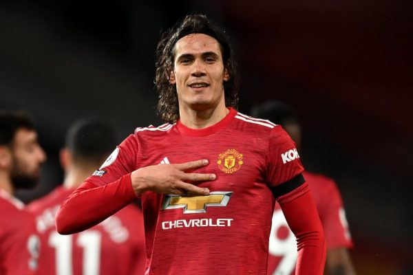 Manchester United will not be able to use Edinson Cavani.