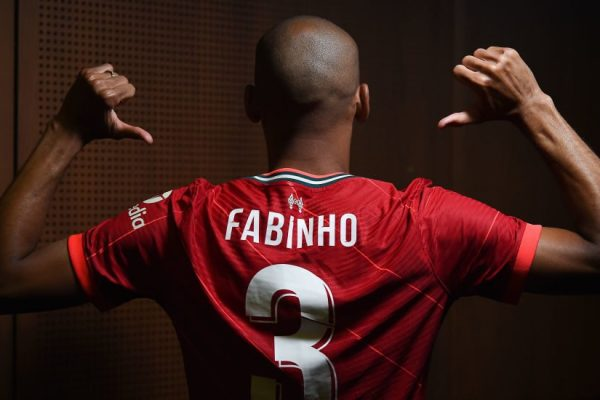 Liverpool have announced a new five-year contract with Fabinho